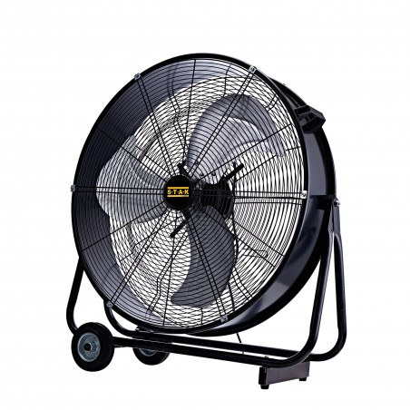 Ventilatore a turbina da pavimento 124w eolus 60 VENT-DRUM60 Ventilatori da tavolo Velamp