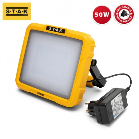 X-Blast 50W: rechargeable LED zone light 3600 lm ST225 Velamp Rechargeable heavy duty worklights