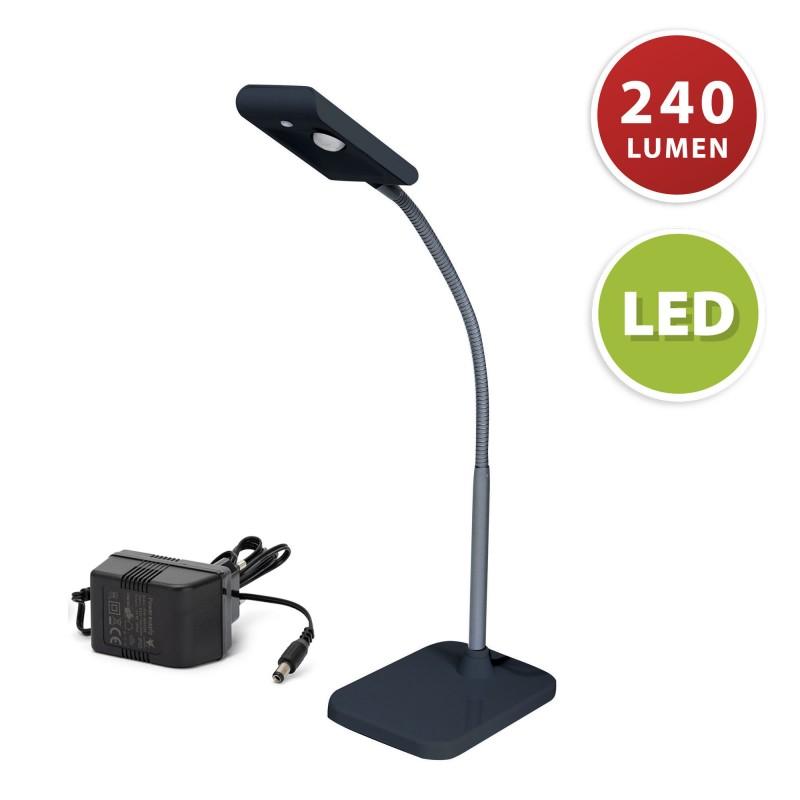 KOMPAKT: Lampe de bureau 3W, noir TL1601N.004S Lampes de bureau Velamp