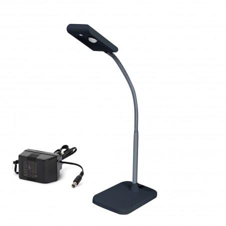 Lampada da tavolo led 3w nero kompakt TL1601N.004S Lampade da scrivania Velamp