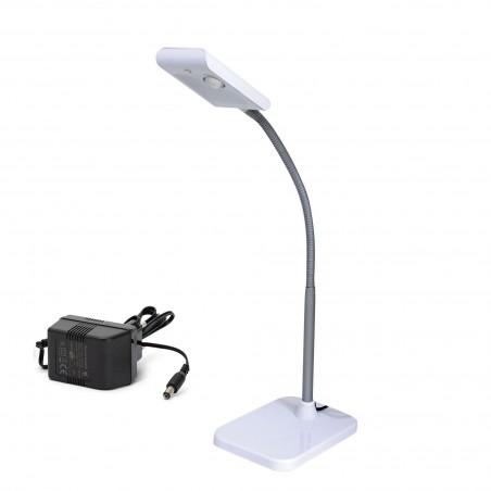 KOMPAKT: 3W LED table lamp. White TL1601B.004S Velamp Desk lamps