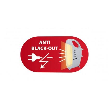 Lampada di emergenza portatile ricaricabile led 320 lm ovidea IR160EVO Luci di emergenza portatili Velamp