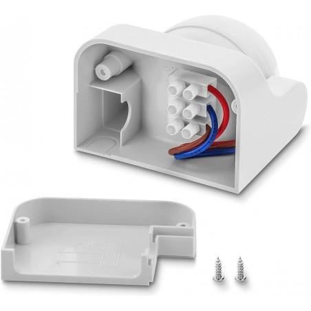 Bewegungsmelder Infrarot IP44, 2 Richtungen MS002.006L Bewegungssensoren Velamp