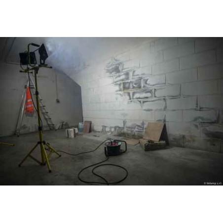 Projecteur LED 8000 lumen, 2x50W, avec trépied et câble 3m H05RN-F 3G1.0mm2 ST748 Projecteurs de chantier filaires  Velamp
