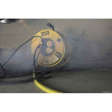 Enrouleur PRO, 4 Preise, H07RN-F 3G2.5, 40M, NF, CE, IP44. Platine fixe REELPRO-FR-40 Kabeltrommeln Frankreich, Belgien, Pole...