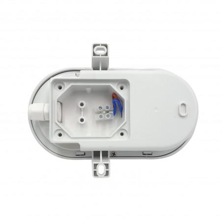 TARTARUGA: applique LED 5.5W bianca. IP54, Connettore Fast TARTARUGA-B Applique ovali Velamp