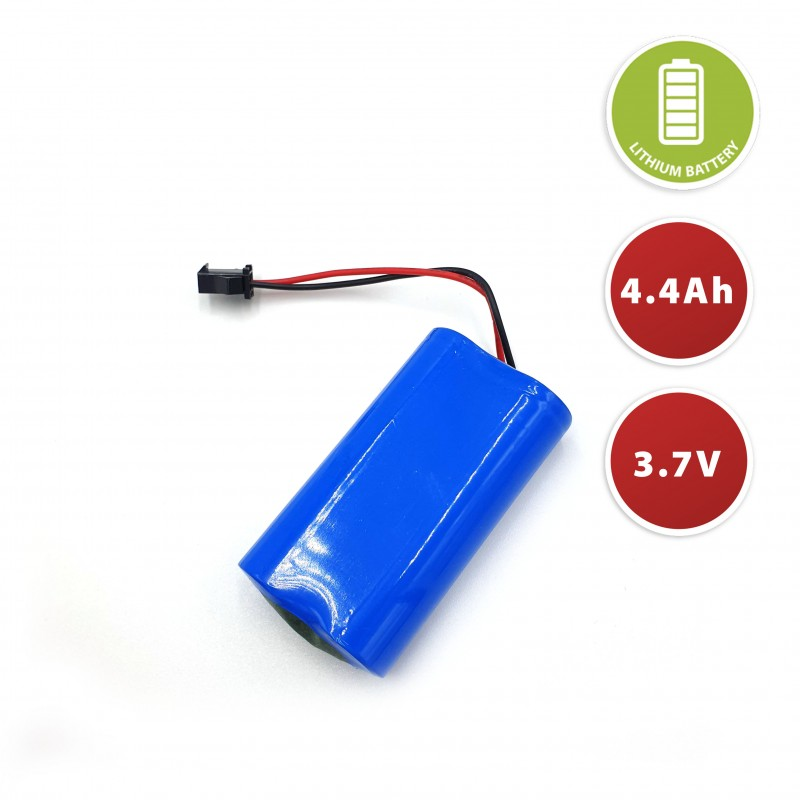 Batteria al litio 3,7V 4,4Ah BATT3744 Batterie litio Velamp