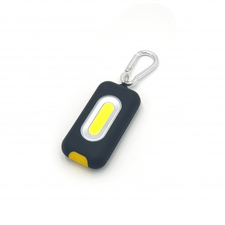 Keychain with COB LED panel and magnet. 3AAA not included IN221 Velamp LED flashlights
