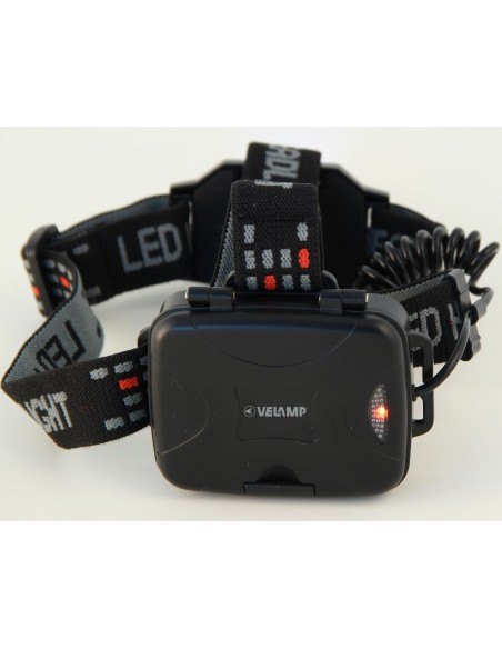 ARGO ZOOM EVO: CREE 400lm LED head lamp with zoom and rear light IH535 Velamp LED flashlights