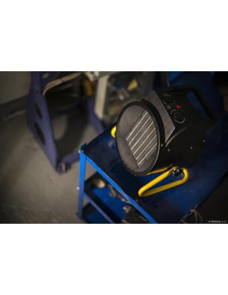 Generatore di aria calda PTC 3KW STH3000W Riscaldamento e ventilazione per il cantiere Stak