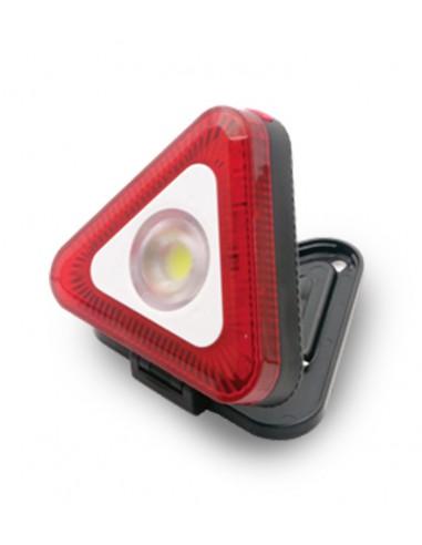 LED-Lichtdreieck mit Taschenlampe und Magnet. 3AAA nicht enthalten IS419 Arbeitsleuchten, wiederaufladbar und batteriebetrieb...