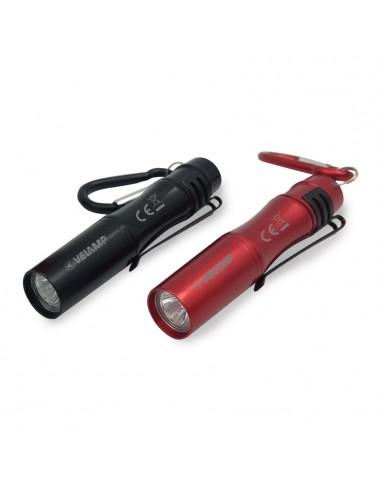 LED-Taschenlampe mit Clip und Aluminium-Schlüsselring IN239 LED Taschenlampen Velamp