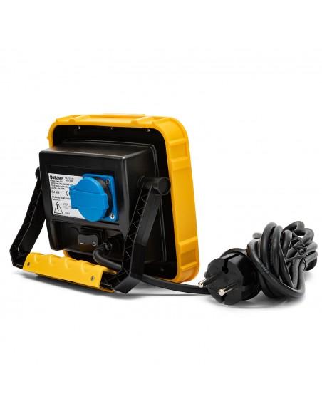 X-Blast 30W: LED-Scheinwerfer mit 3 m Kabel und französischem Stecker. 3000lm STA30D-F Kabelgebundene Strahler für die Bauste...