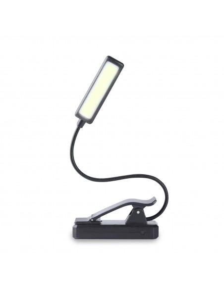 Wiederaufladbares LED-Leselicht 2W, mit Clip IR236 Leselichter Velamp