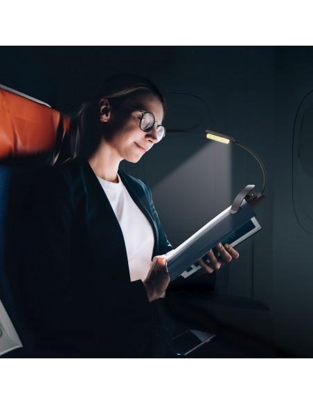 Lampe de lecture rechargeable LED 2W, avec clip IR236 Lampes de lecture Velamp