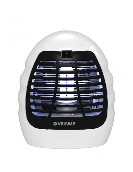 Zanzariera elettrica, con lampadina UV e ventola, 14W MK180 Antizanzare Velamp