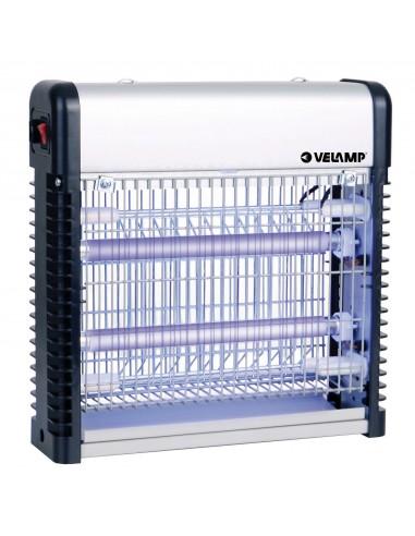 Moustiquaire électrique professionnelle. 2 tubes UV 6W MK312 Moustiquaires électriques Velamp