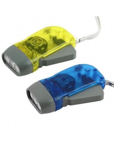 3 LED dynamo flashlight IN322 Velamp LED flashlights