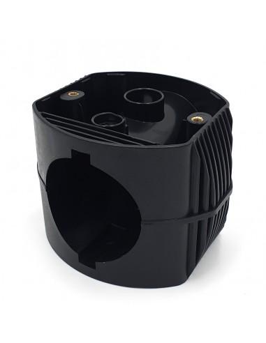 Connecteur de mât pour 2 sphères APOLUX SPH182 Accessoires pour sphères série APOLUX Velamp