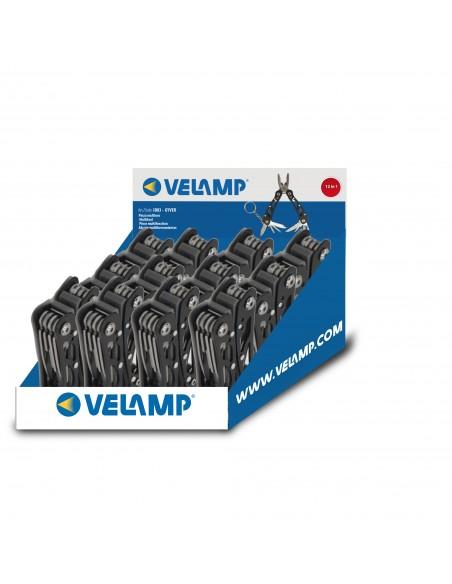 Pince métallique multi-outils et multi-usages 12 en 1, pliable. D83 Testeurs de voltage Velamp