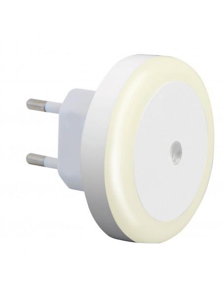 DROPLED: LED-Nachtlicht mit Dämmerungsschalter, weiß IL27LED.012L Nachtlampen Velamp