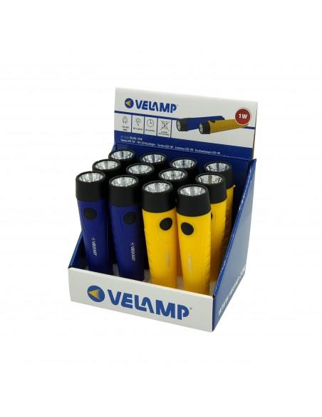 STIK: torcia LED 1W in plastica, 2AA non incluse DL202 Torce LED Velamp