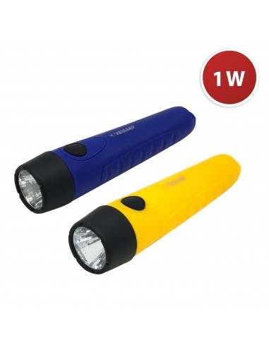 STIK: 1W Kunststoff LED Taschenlampe, 2AA nicht enthalten DL202 LED Taschenlampen Velamp