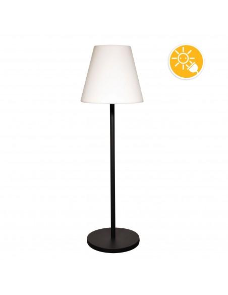 EXTENZA SOLAR: Solar charging RGB outdoor floorlamp-150 cm SL3432 Velamp Solar lighting