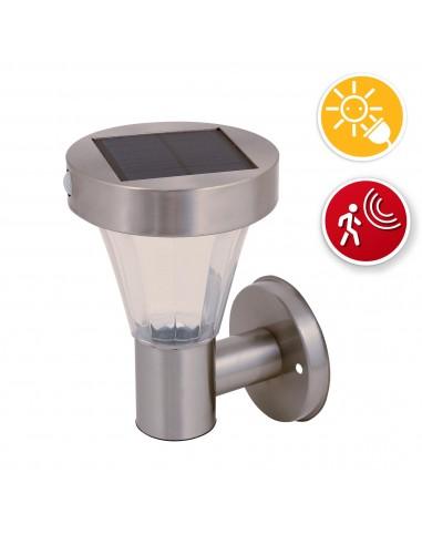 MALIS: applique LED solaire 200 lumen. Détecteur de mouvements SL320 Éclairage solaire Velamp