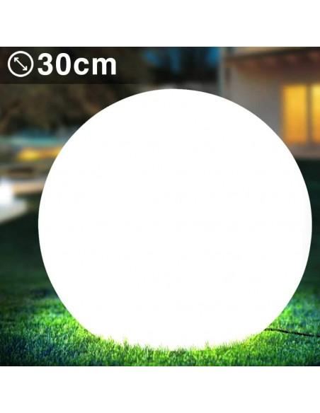 SOLAR NOVA XL: 30cm solar rechargeable LED RGB ball SL532 Velamp Solar lighting