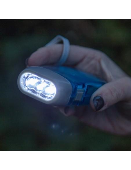 3 LED Dynamo Taschenlampe IN322 LED Taschenlampen Velamp