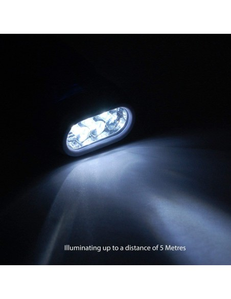 Linterna dinamo de 3 LED IN322 Velamp Linternas LED