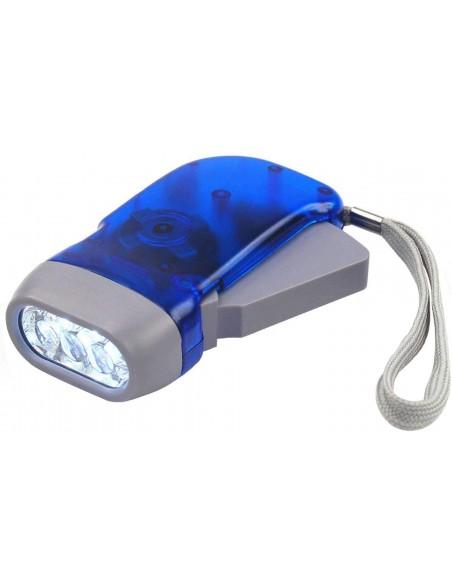 Torcia 3 LED a dinamo IN322 Torce LED Velamp