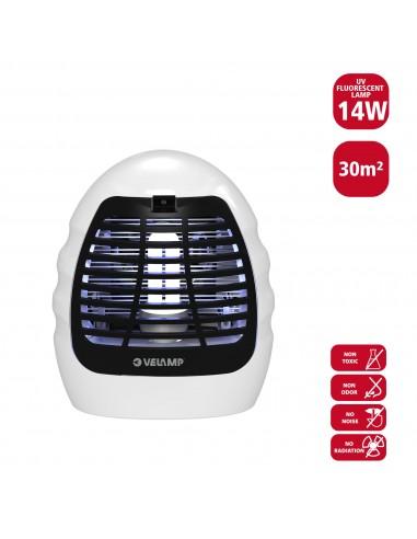 Elektrisches Moskitonetz, mit UV-Lampe und Lüfter, 14W MK180 Elektrisches Moskitonetz Velamp