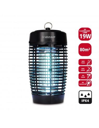 Moustiquaire électrique pour extérieur IPX4, avec ampoule UV, 19W MK174E Moustiquaires électriques Velamp