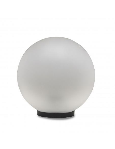 Sfera per esterno in PMMA, 250mm, Attacco E27, frosted white SPH254 Sfere bianche apolux Velamp