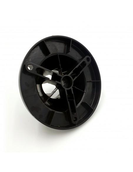 Base da pavimento per pali Ø 60mm, in ABS. Per serie APOLUX SPH162 Accessori per sfere apolux Velamp