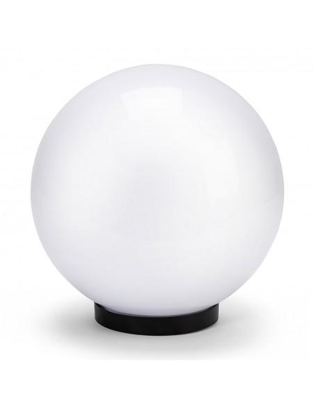 400 mm outdoor globe, PMMA, E27, white SPH400 Velamp APOLUX white globes
