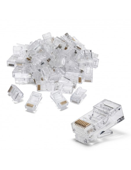 100 connectors to crimp CAT6 UTP LANC6U-100 Velamp UTP / FTP cables and connectors