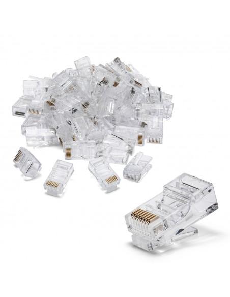 100 Anschlüsse zum Crimpen von CAT5 UTP LANC5U-100 UTP / FTP-Kabel und Zubehör Velamp