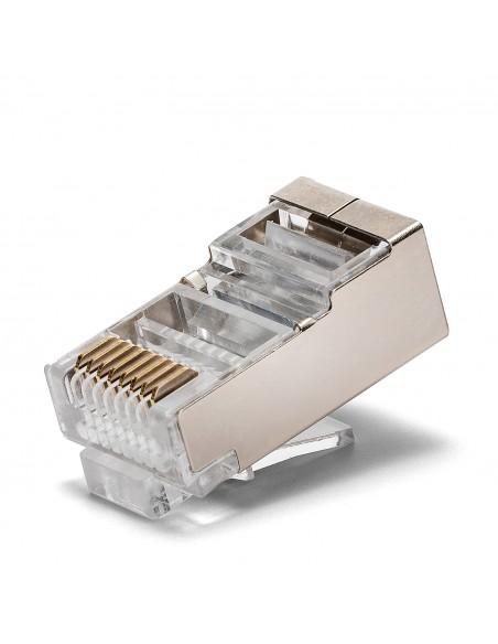 100 zu crimpende Anschlüsse CAT5 FTP - Abgeschirmt LANC5F-100 UTP / FTP-Kabel und Zubehör Velamp
