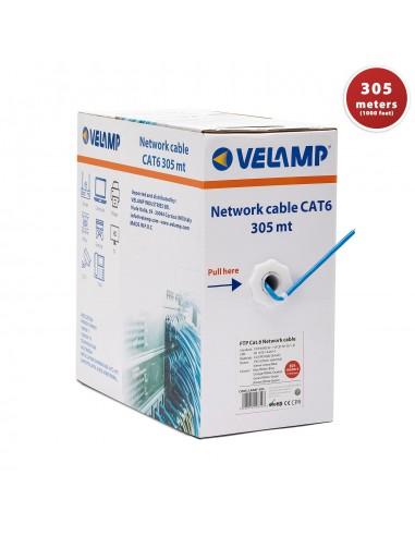 Cavo di rete CAT6 FTP 305mt in pul box LAN6F-305 Cavi di rete UTP / FTP e accessori Velamp