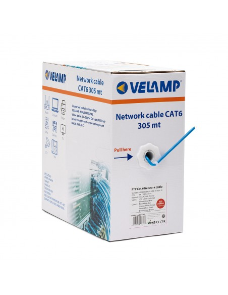 CAT6 FTP 305mt network cable in pull box LAN6F-305 Velamp UTP / FTP cables and connectors