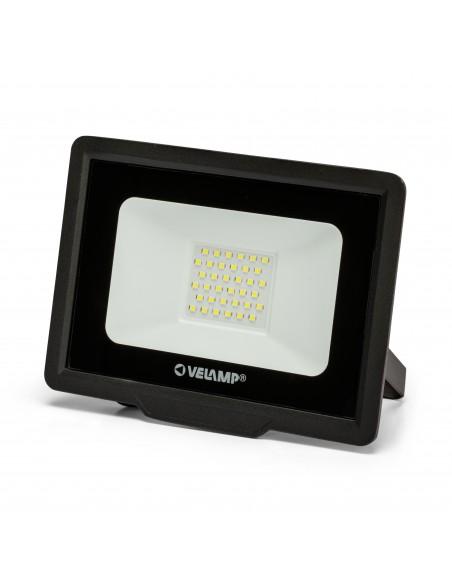 PADLIGHT5, 30W IP65 SMD LED floodlight, black 6500K IS755-5-6500K Velamp LED outdoor floodlights