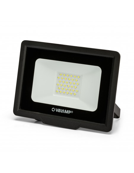PADLIGHT5, reflector LED SMD IP65 de 30W, negro 6500K IS755-5-6500K Velamp Proyectores LED para exterior