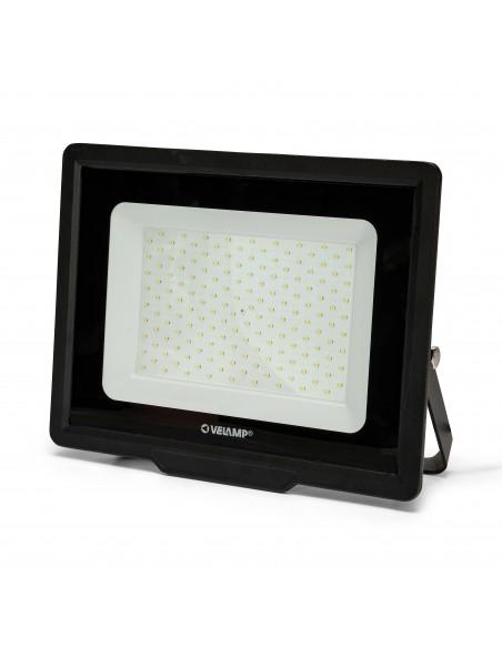 PADLIGHT POWER, 150W LED SMD floodlight, IP65, black, 6500K IS783 Velamp LED outdoor floodlights