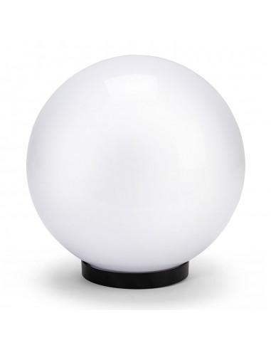 Sphère d'extérieur en PMMA, 250mm, E27, blanche SPH250 Sphères APOLUX blanches Velamp
