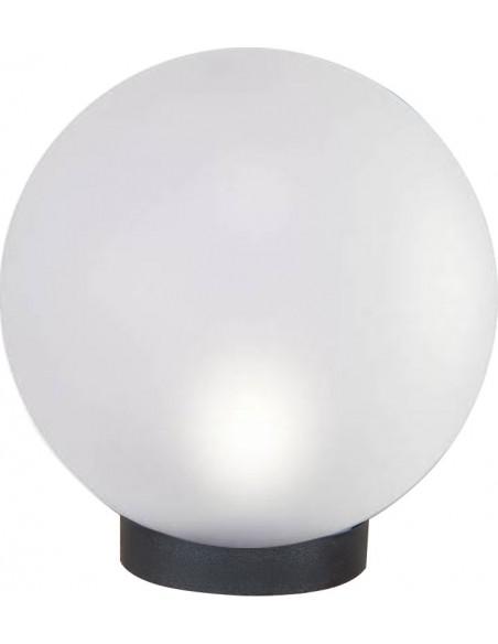 Sfera per esterno in PMMA, 300mm, Attacco E27, frosted white SPH304 Sfere bianche apolux Velamp