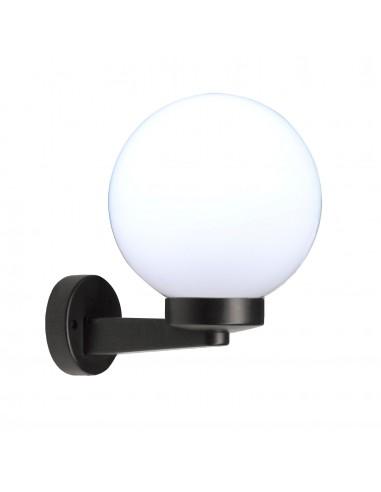 Applique avec sphère pour extérieur en PMMA, 200 mm, culot E27, blanc SPH202P Sphères APOLUX blanches Velamp