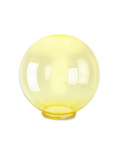 Esfera de PMMA, 250 mm, amarillo